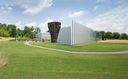 Экстерьер музея изобразительных искусств Северной Каролины стоковые изображения
