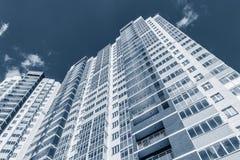 Экстерьер нового жилого дома Стоковые Изображения RF