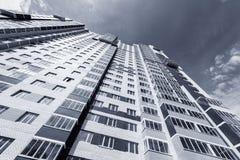Экстерьер нового жилого дома Стоковое Изображение RF