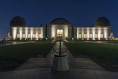Экстерьер обсерватории Griffith Стоковое Изображение RF