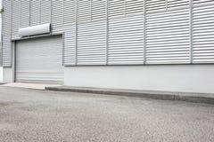 Экстерьер промышленной установки склада Стоковое Фото