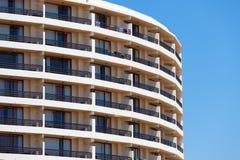 Экстерьер современного жилого квартала Стоковая Фотография RF