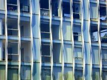 Экстерьер стекла офисных зданий Нью-Йорка Стоковые Изображения RF