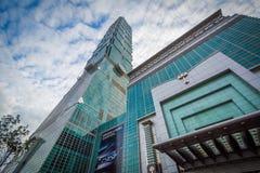 Экстерьер Тайбэя 101, в Xinyi, Тайбэй, Тайвань Стоковое Фото
