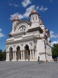 экстерьер церков богато украшенный Стоковые Изображения RF