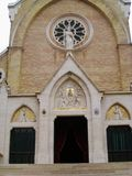 Экстерьер церков St Alphonsus Liguori, Рима, Италии стоковое изображение