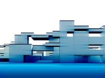 экстерьер 3d Стоковое Изображение RF