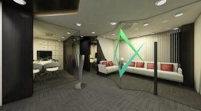 Экстерьер 3D Стоковые Изображения RF