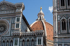 экстерьер florence собора Стоковые Фото