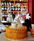 Экстракласс свадебного пирога Стоковые Изображения
