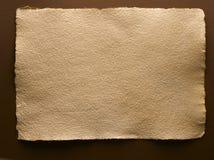 экстренная большая старая бумага Стоковое Фото