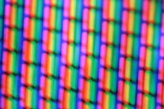 экстренные пикселы tv макроса Стоковое фото RF