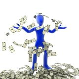экстренные деньги Стоковая Фотография