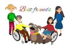 Экстренныйому выпуску нужны дети с друзьями Стоковое Фото