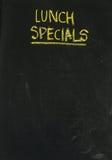 Экстренныйые выпуски обеда на классн классном в вертикали Стоковые Фотографии RF