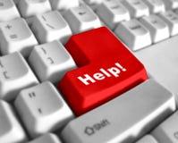 экстренныйый выпуск клавиатуры помощи Стоковые Изображения
