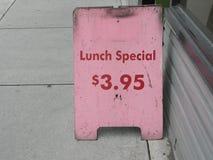 экстренныйый выпуск обеда Стоковые Фото