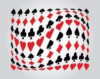 экстренныйый выпуск покера предпосылки Стоковые Фотографии RF