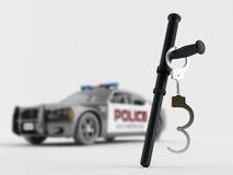 экстренныйый выпуск полиций оборудования Стоковые Изображения RF