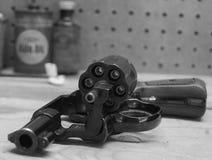 экстренныйый выпуск 38 револьверов Стоковые Фото