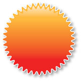 экстренныйый выпуск цены иконы Стоковое Фото