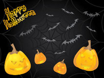 экстренныйый выпуск halloween карточки Стоковые Изображения