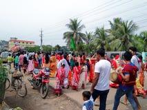 Экстренныйый выпуск puja Kali стоковое фото