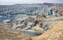 Эксцентричные горы в пустыне Стоковые Фотографии RF