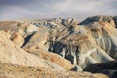 Горы в пустыне стоковое изображение
