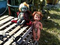 Эксцентричные панковские куклы Стоковое Изображение RF