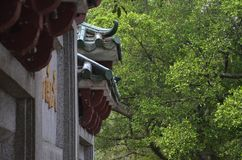 Элегантная архитектура в горах стоковое фото rf