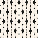 Элегантная геометрическая безшовная картина с вертикальными линиями, косоугольниками бесплатная иллюстрация