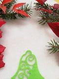 Элегантная поздравительная открытка на зимний отдых стоковые изображения