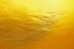элегантное золото покрашенное на цементе и конкретной текстуре для картины Стоковые Фото