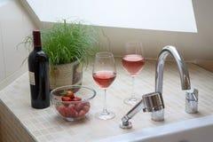 элегантность ванной комнаты Стоковые Фотографии RF