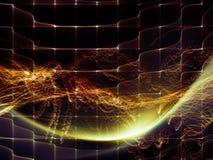 Элегантность виртуального мира иллюстрация вектора