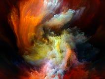 Элегантность движения цвета иллюстрация вектора
