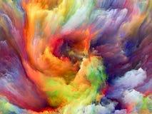 Элегантность движения цвета иллюстрация штока