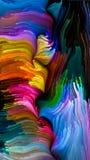Элегантность жидкостного цвета иллюстрация штока