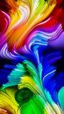 Элегантность жидкостного цвета иллюстрация вектора