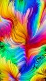 Элегантность жидкостного цвета Стоковые Фото