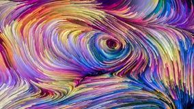 Элегантность красочной краски бесплатная иллюстрация