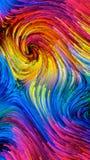 Элегантность красочной краски иллюстрация вектора