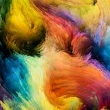 Элегантность красочной краски иллюстрация штока