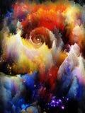 Элегантность сновидений фрактали иллюстрация штока