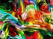 Элегантность сплавленных цветов бесплатная иллюстрация