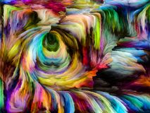 Элегантность сплавленных цветов иллюстрация штока