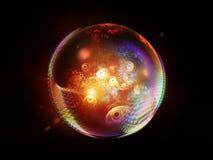 Элегантность сферы фрактали бесплатная иллюстрация