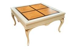 Элегантный журнальный стол изолированный над белизной Стоковые Изображения RF