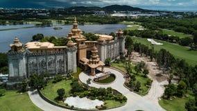 Элегантный замок на дистантном Стоковые Фотографии RF